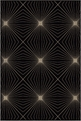 Orian Nuance Twilight Black Area Rug