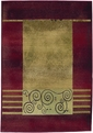 Oriental Weavers Sphinx Generations 213r1 Dark Red Area Rug