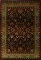 Sphinx Generations 3434R Dark Red Rug