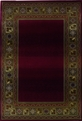 Sphinx Generations 3436R Dark Red Rug