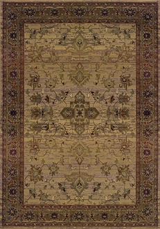 Oriental Weavers Sphinx Kharma Timeless 836Y Medium Beige Area Rug