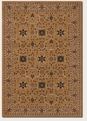 Over Vase Antique Gold All Anatolia Area Rug by Couristan