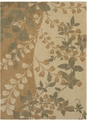 Pacifica Flora Bella 03200 Antique Gold Machine Woven 100% New Zealand Wool Shaw Rugs