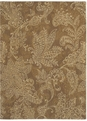 Pacifica Santa Barbara 05200 Antique Gold Machine Woven 100% New Zealand Wool Shaw Rugs