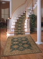 Palace Garden PG-01 Teal Carpet Stair Runner
