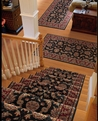 Palace Garden PG-19 Charcoal Carpet Stair Runner