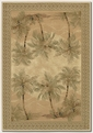 Palm Tree Desert Sand 2803/6387 Everest Area Rug by Couristan