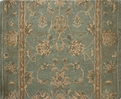 Patina 13 Aqua Traditional Carpet Stair Runner