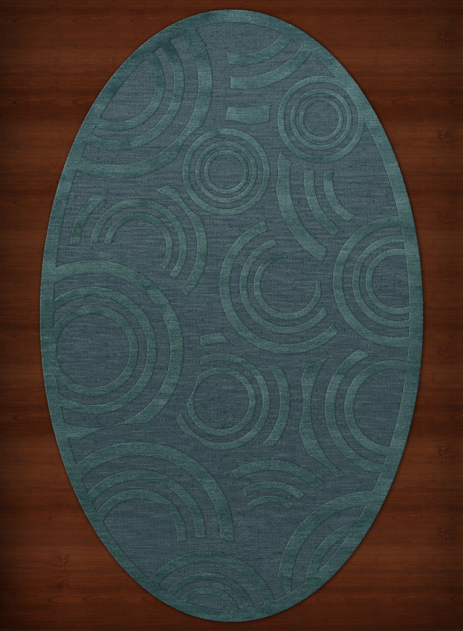 Payless Troy Tr3 144 Teal Oval Area Rug Payless Rugs