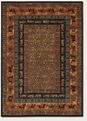 Pazyrk Burnished Rust 1660/3066 Old World Classics Area Rug by Couristan
