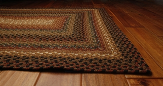 Peppercorn Cotton Area Rug by Homespice