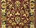 Persian Dream PD01 Burgundy Carpet Stair Runner
