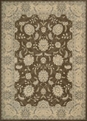 Persian Empire PE22 Chocolate Rug by Nourison