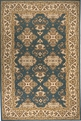Persian Garden PG-01 Teal Blue Rug by Momeni