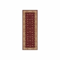 Persian Garden<br>PG-08 Burgundy<br>Machine Made<br>100% Wool<br>Momeni Rugs