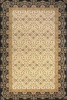 Persian Garden PG-09 Charcoal Area Rug by Momeni