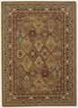 Couristan Panel Hazelnut 8042/9342 Royal Kashimar Rug