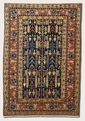 Peshawar Stone Wash Denim 3350/0004 Chobi Area Rug by Couristan