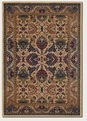 Plume Cream Plum Royal Anatolia Area Rug by Couristan