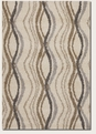 Pulsation Cream 6992/0005 Moonwalk Area Rug by Couristan