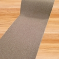 Pure Beige Carpet Stair Runner - Rubber Backed