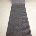 Pure Dark Grey Carpet Stair Runner With Rubber Backing - $6.99 a Foot