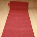 Pure Red Custom Runner with Rubber Backing - $6.99 a Foot
