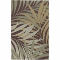 Rain RAI-1000 Sage Tan Mint Outdoor Area Rug by Surya
