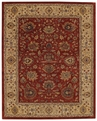 Red Gold Forest Park Area Rug by Capel