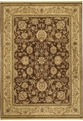 Renaissance Monaco 05710 Dark Brown Machine Made 100% Nylon Shaw Rugs