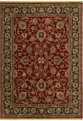 Renaissance Monaco 05800 Cranberry Machine Made 100% Nylon Shaw Rugs