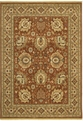 Renaissance Sienna 07810 Spice Machine Made 100% Nylon Shaw Rugs