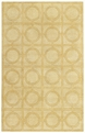 Rings Yellow Morgan Hill Area Rug by Capel