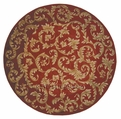 Round Ashton House AS04 Sienna Area Rug by Nourison