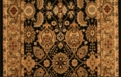 Royal Kashimar All Over Vase 8132/2606 Black Deep Maple Custom Runner