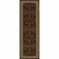Royal<br>RY-03<br>Black<br>Power Loomed<br>100% Polypropylene<br>Momeni Rugs