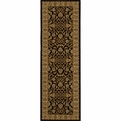 Royal<br>RY-04<br>Black<br>Power Loomed<br>100% Polypropylene<br>Momeni Rugs