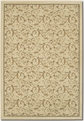 Royal Scroll Antique Linen 2863/0618 Everest Area Rug by Couristan