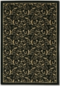Royal Scroll Ebony 2863/6214 Everest Area Rug by Couristan