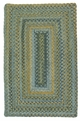 RV-50 Whipple Blue Ridgevale Rug by Colonial Mills