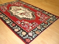 Santa Fe SAF03 Red Hand Woven Flat Weave Kilm 100% Wool Payless Rugs Discontinued Limited Stock