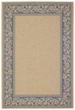 Scroll Blue Elsinore Rug by Capel