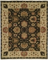 Soumak SU-100 Black Rug by Kalaty