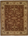 Soumak SU-148 Brown Ivory Area Rug by Kalaty