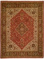 Soumak SU-151 Rust Brown Rug by Kalaty