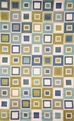 Spello Big Square 2055/04 Ocean Area Rug by Trans-Ocean