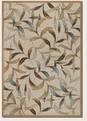 Spring Vista Neutral Blue 2104/1040 Covington Outdoor Area Rug by Couristan