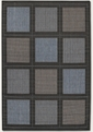 Summit Blue Black 1043/5000 Recife Outdoor Area Rug by Couristan