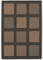 Summit Cocoa Black 1043/2500 Recife Outdoor Area Rug by Couristan