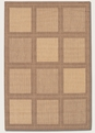 Summit Natural Cocoa 1043/3000 Recife Outdoor Area Rug by Couristan